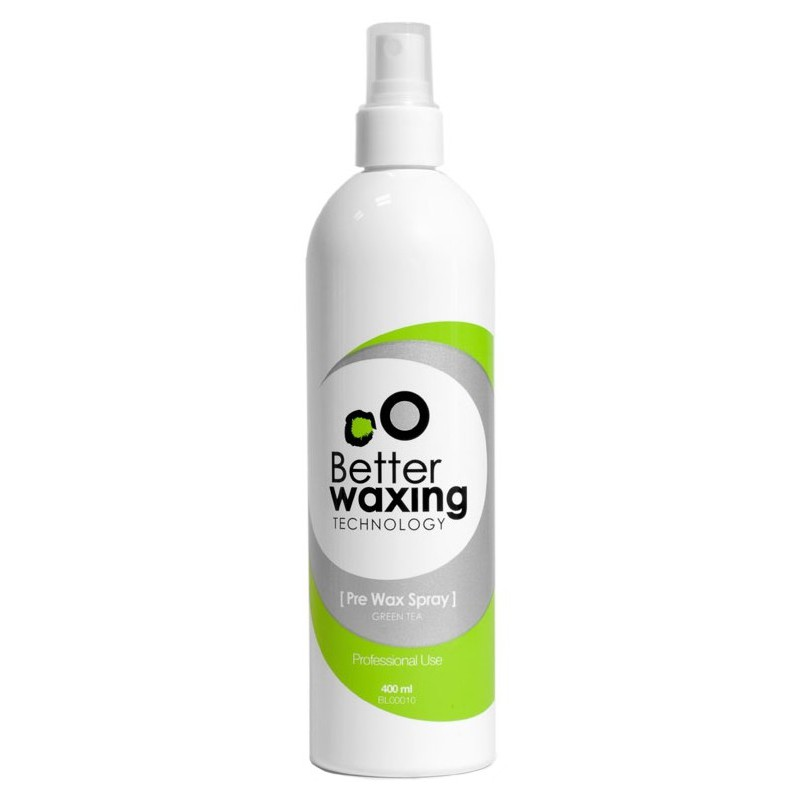 Antiseptinis purškiklis prieš depiliaciją Better Waxing Technology BL00010 su žaliąja arbata, 400 ml