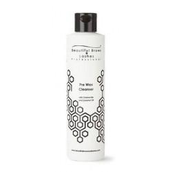 Odos valiklis prieš depiliaciją Beautiful Brows Lashes Professional Pre Wax Cleanser FGLBP006, su ramunėlių ir kokosų aliejais, 250 ml