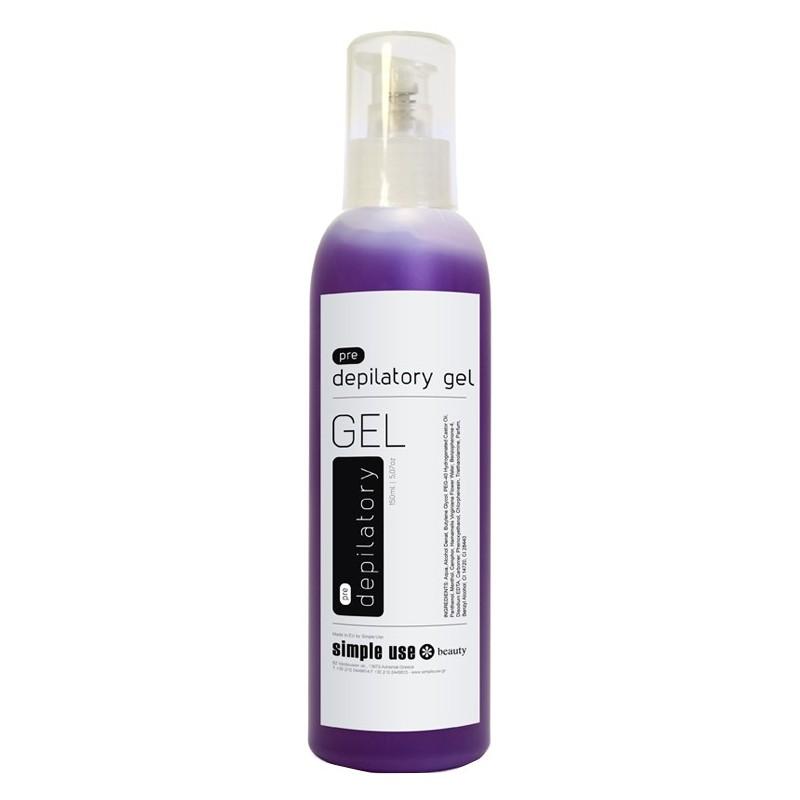 Antiseptinis gelis prieš depiliaciją Simple Use Beauty SIMR22, 150 ml