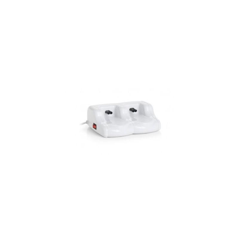 Vaško kasečių šildytuvas Quickepil Basic Wax Heater with 2 Slots QUI3030400002, dviem vaško kasetėms