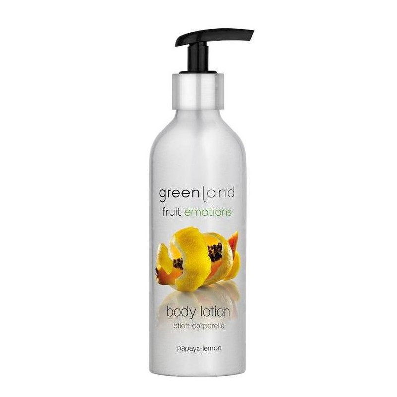 Kūno losjonas Greenland Body Lotion Papaya - Lemon GRLFE0181, papajų - citrinų kvapo, 200 ml