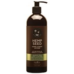 Rankų ir kūno losjonas Hemp Seed Hand & Body Lotion Velvet Cucumber Melon HSV210, 473 ml