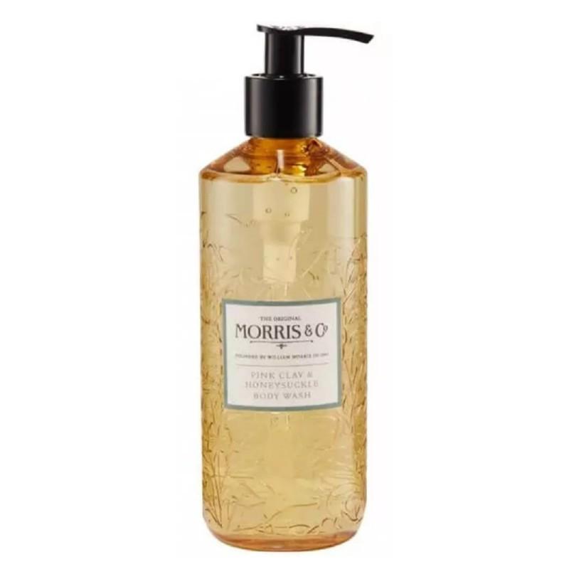Kūno prausiklis Heathcote & Ivory Morris Pink Clay & Honeysuckle Body Wash MOFG9013, 320 ml