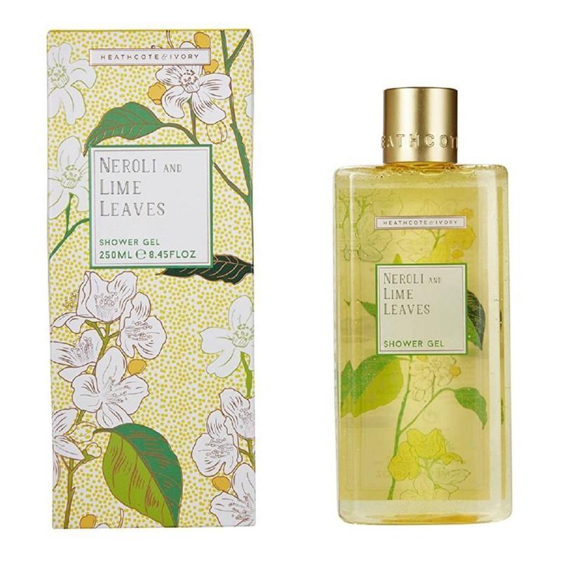 Kūno prausiklis Heathcote & Ivory Neroli And Lime Leaves Moisturising Shower Gel, NLFG7219, 250 ml