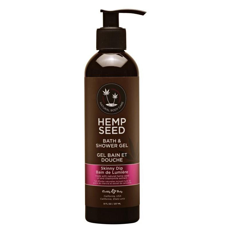 Kūno prausiklis Hemp Seed Bath & Shower Gel Skinny Dip SG021, 237 ml