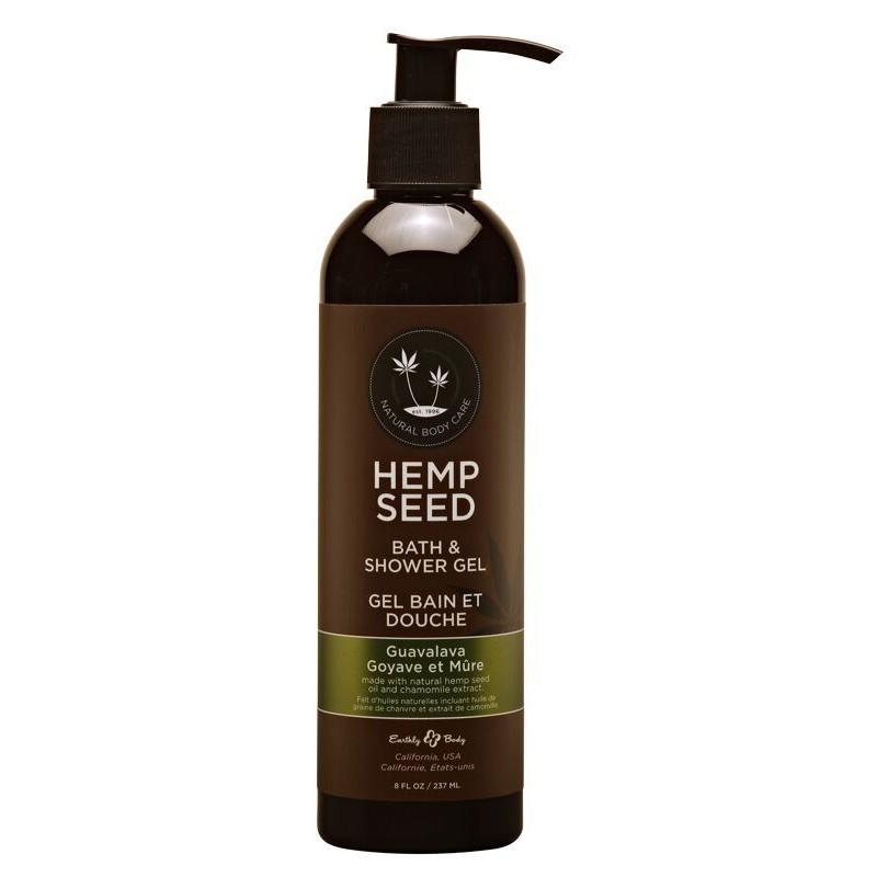 Kūno prausiklis Hemp Seed Bath & Shower Gel Guavalava SG068, 237 ml