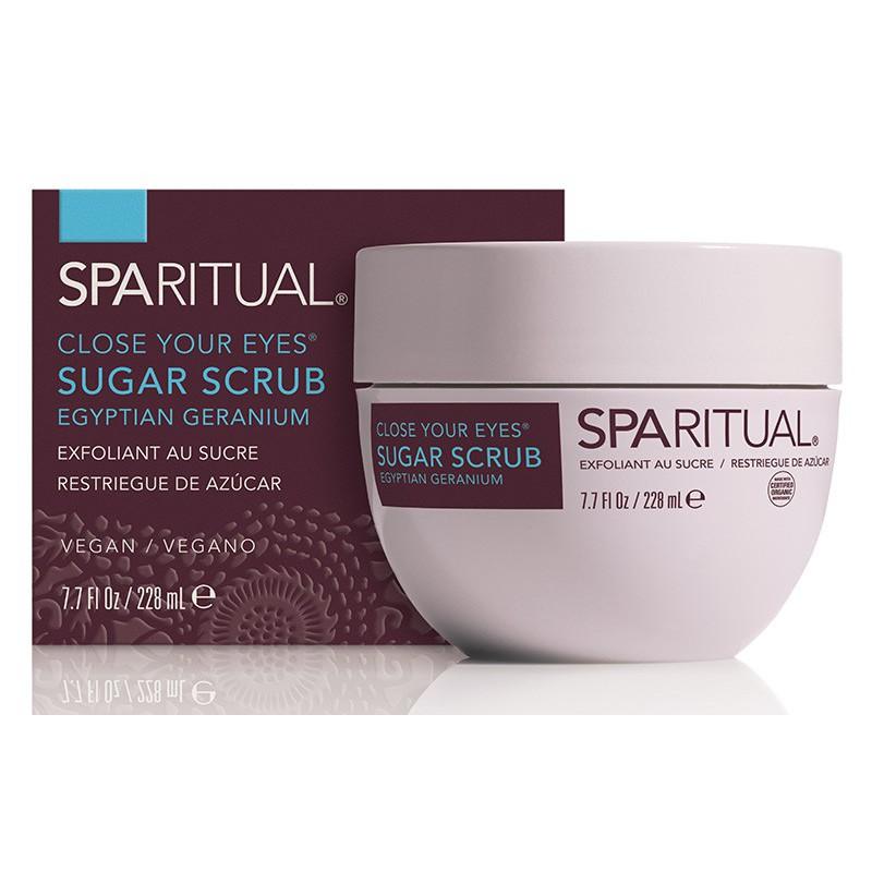 Kūno odos šveitiklis SPA RITUAL Close Your Eyes Sugar Scrub Egyptian Geranium SPAR86220, 228 ml