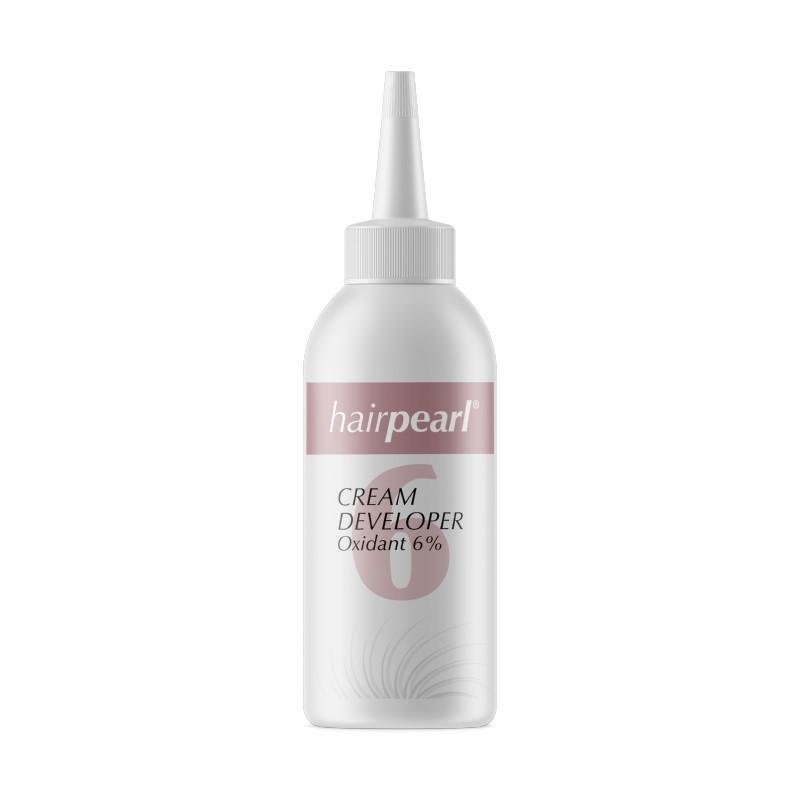 Oksidacinė emulsija blakstienų ir antakių dažams Hairpearl Cream Developer Oxidant HPCE00001, 6%, 80 ml