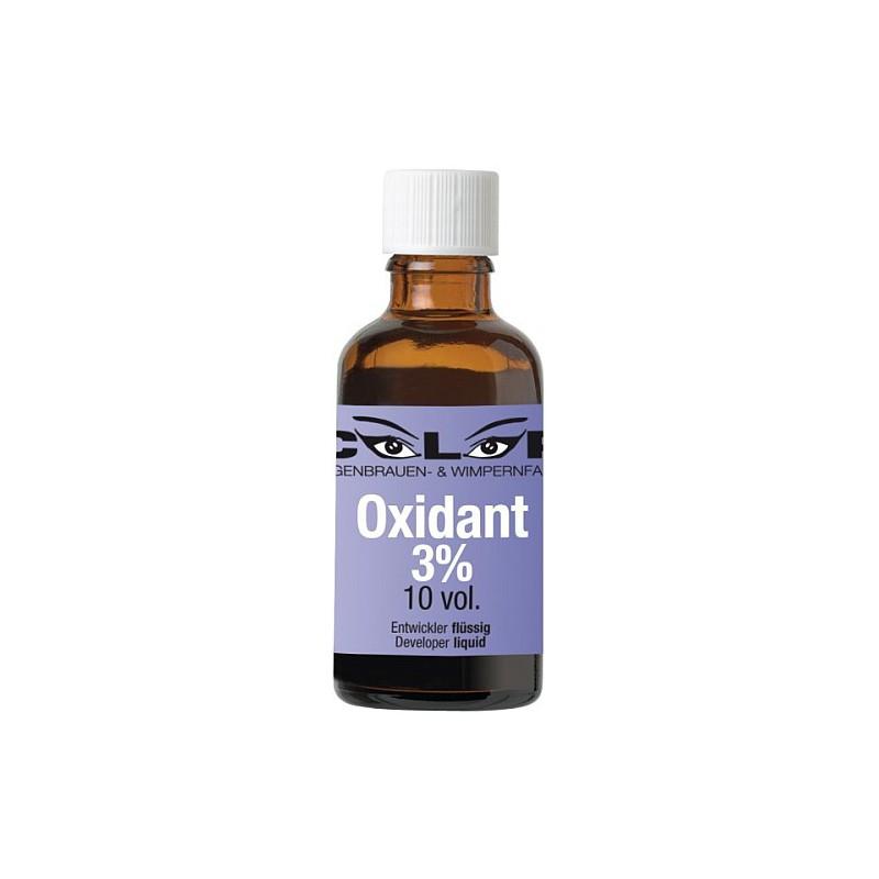 Oksidacinis skystis Comair KMS3080943 blakstienų ir antakių dažams, 3%, 10 vol, 50 ml