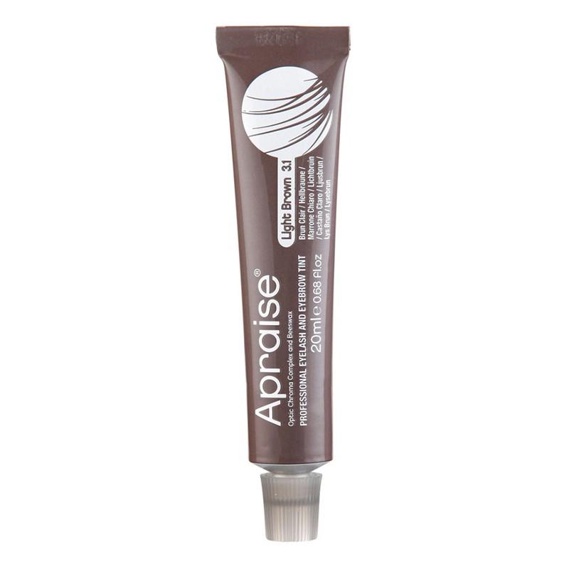 Antakių blakstienų dažai Apraise Professional Eyelash and Eyebrow Tint OS555552, Nr. 3.1, šviesiai rudi, 20 ml