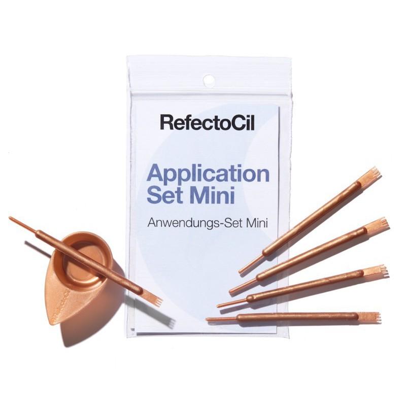 Rinkinys dažų maišymui, saugojimui ir užtepimui RefectoCil REF05767/6146: indelis ir lazdelė