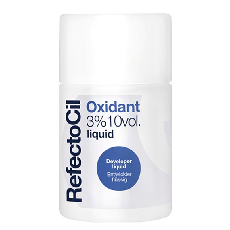 Oksidacinis skystis blakstienų ir antakių dažams RefectoCil Oxidant Liquid REF6111, 10 vol, 3%, 100 ml