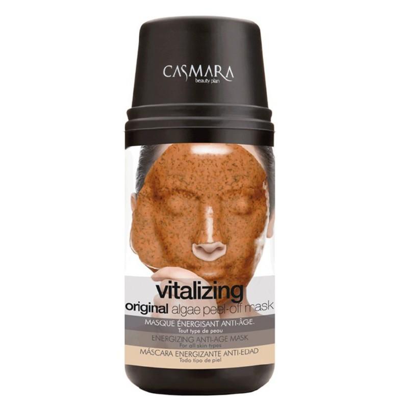 Alginatinė veido kaukė Casmara Vitalizing Algea Peel Off Mask Kit CASA70015, skaistinanti veido odą, stabdanti odos senėjimo procesus
