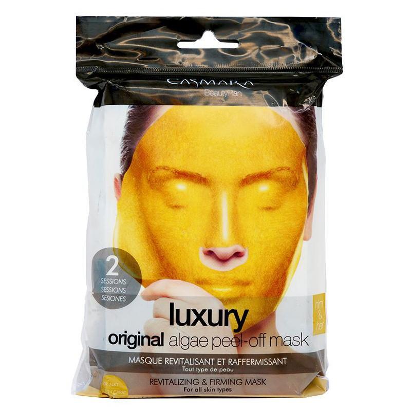 Alginatinė veido kaukė Casmara Luxury Algea Peel Off Mask CASA71003, atgaivinanti veido odą, 2 kartams