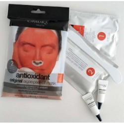 Alginatinė veido kaukė Casmara Antioxidant Algea Peel Off Mask CASA71004, antioksidacinė, atkurianti ir raminanti veido odą, 2 kartams