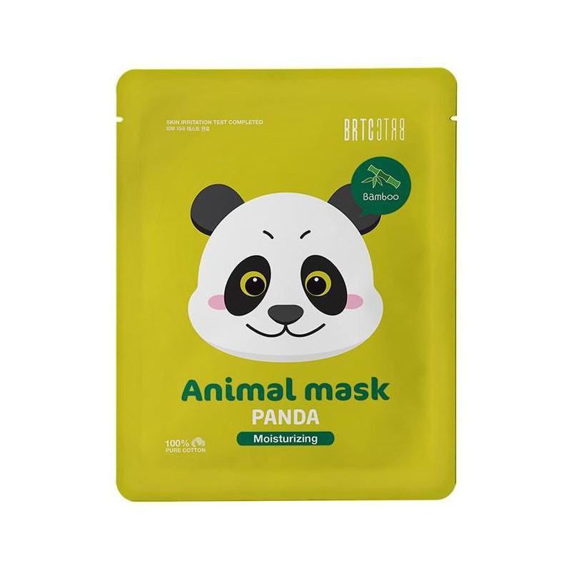 Lakštinė veido kaukė CLIV Character Mask Panda CLIV85131, šviesina veido odai, 20 ml