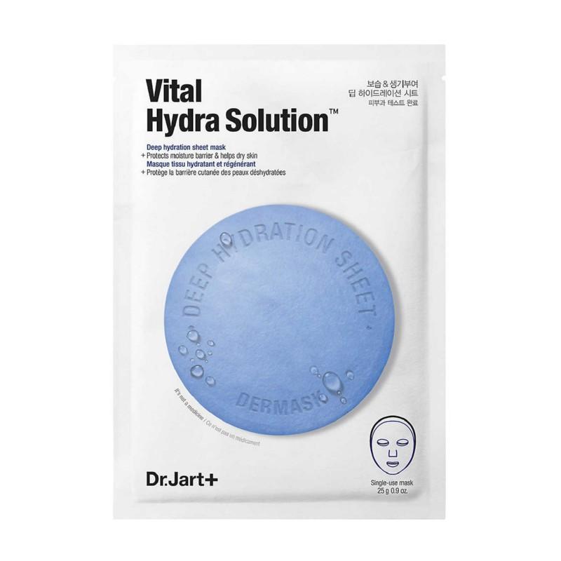 Veido kaukė Dr.Jart+ Dermask Water Jet Vital Hydra Solution DRDM36, drėkina veido odą, 25 g