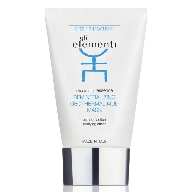 Remineralizuojanti veido ir kaklo odos kaukė Gli Elementi Remineralizing Geothermal Mud Mask GLI01005, 100 ml