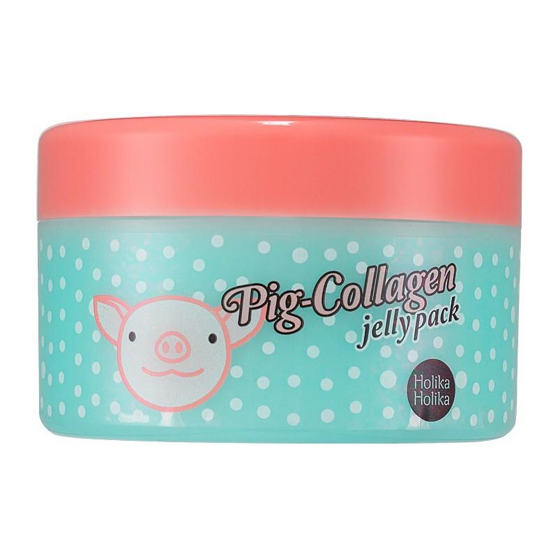 Naktinė kaukė veido odai su kolagenu Holika Holika Pig Collagen Jelly Pack HH20011792, 80 g