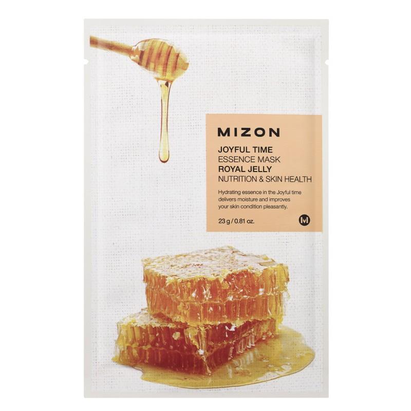 Veido kaukė Mizon Joyful Time Essence Mask Royal Jelly MIZ888890113, su bičių pikiu, 23 g
