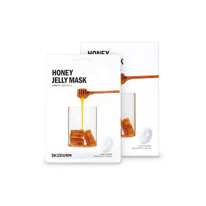 Veido kaukė Skederm Honey Jelly Mask SKE79098, su medumi, 35 ml