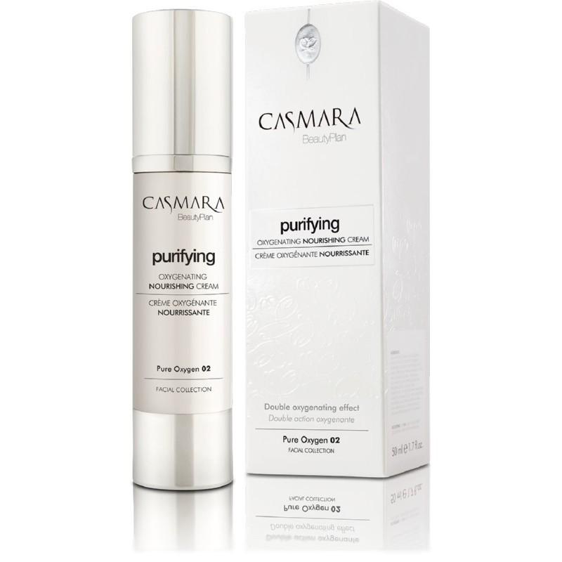 Maitinamasis veido kremas Casmara Purifying Pure Oxygen 02 CASA20002V, deguoninis, 50 ml