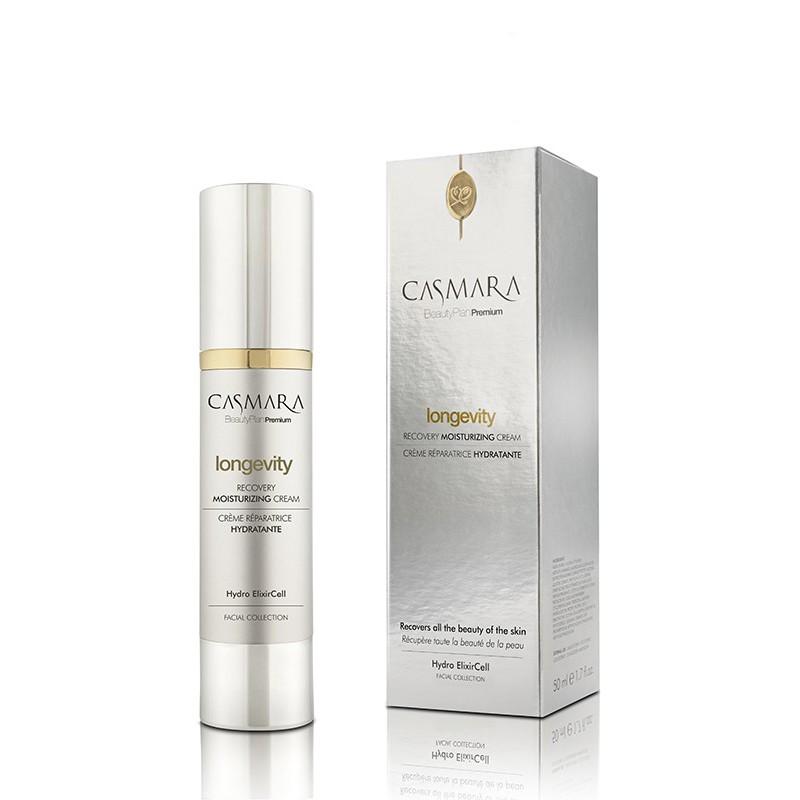 Atkuriamasis, drėkinamasis veido odos kremas Casmara Longevity Recovery Moisturizing Cream CASA85001V, 50 ml