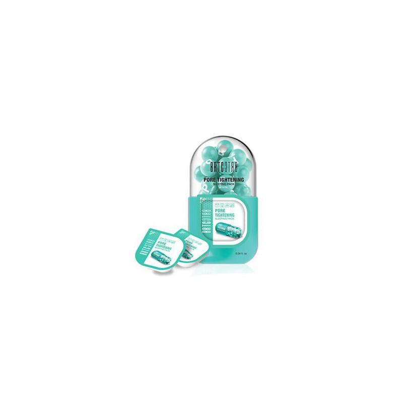 Veido kremas BRTC Pore Tightening Sleeping Pack CLIV85252, glotnina veido odą, 10 ml