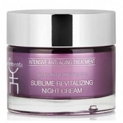 Atgaivinantis, naktinis veido odos kremas Gli Elementi Sublime Revitalizing Night Cream GLI01062, 50 ml