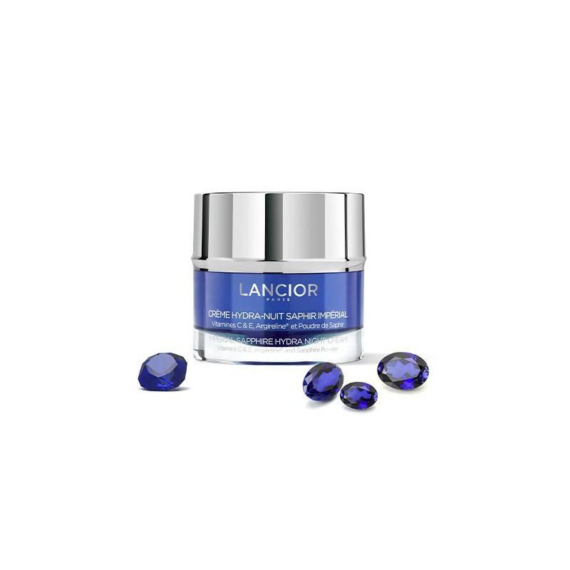 Naktinis kremas veido odai Lancior Paris Imperial Sapphire Hydra Night Cream LANF21318, drėkina odą, 50 ml
