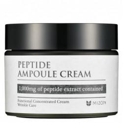 Veido odos kremas Mizon Peptide Ampoule Cream MIZ000003953, su peptidais, 50 ml