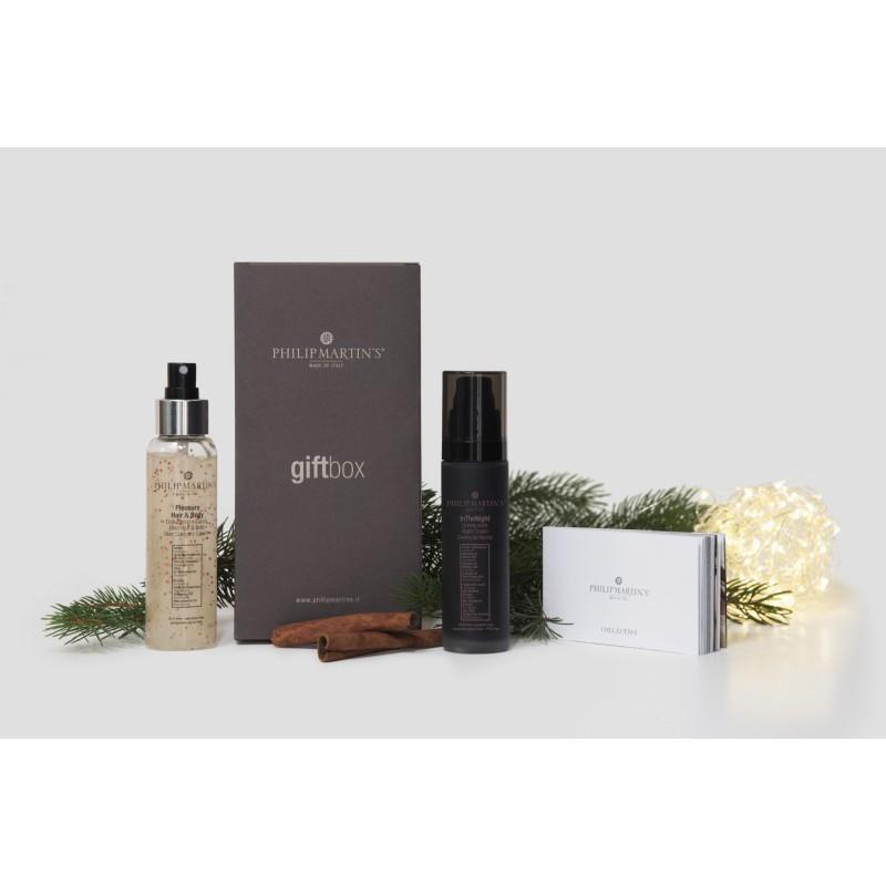 Veido ir kūno odos priežiūros priemonių rinkinys Philip Martin's Christmas Gift PM982