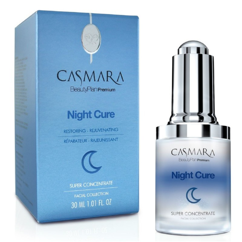 Koncentratas veido odai Casmara Concentrate Night Cure CASA14001, 30 ml