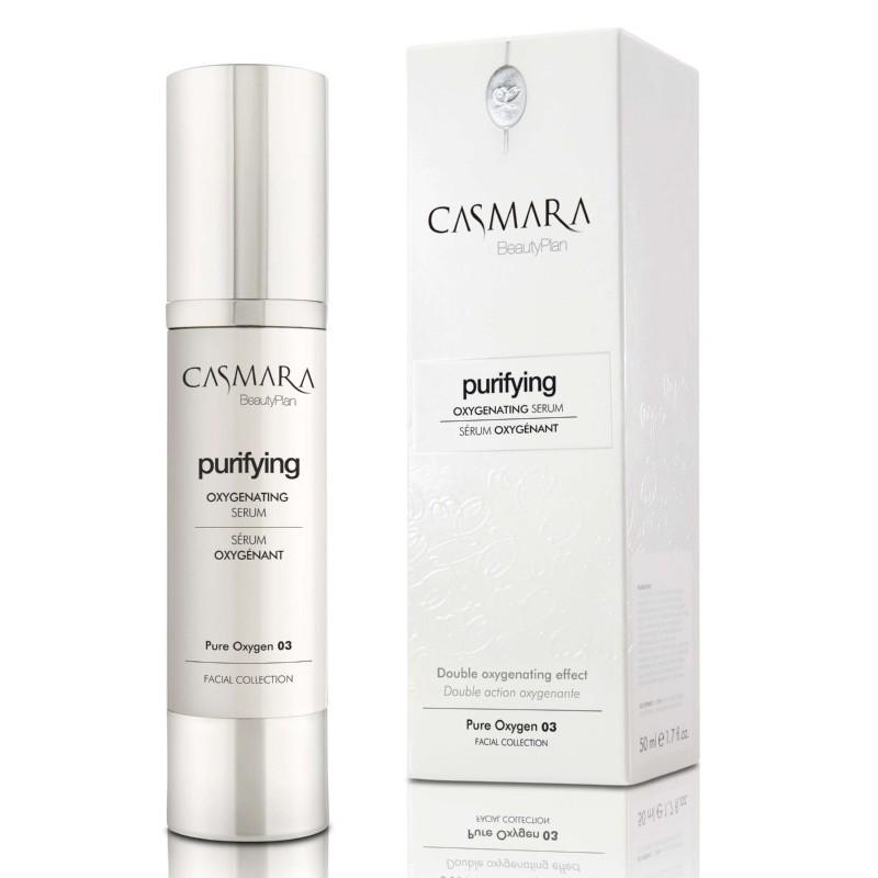 Drėkinamasis veido serumas Casmara Purifying Pure Oxygen 03 CASA20003V, deguoninis, 50 ml