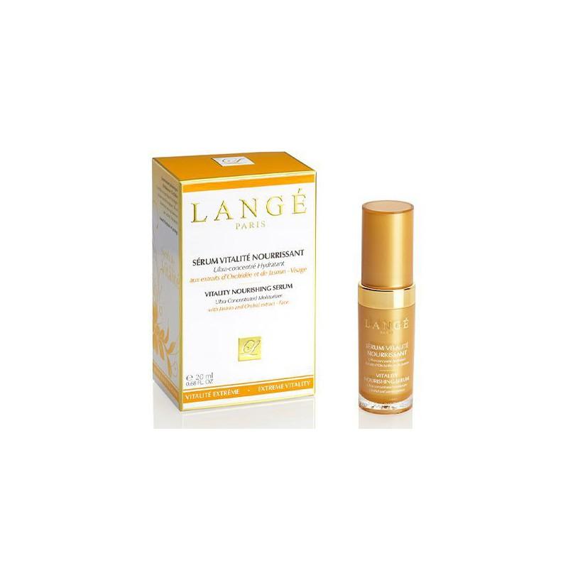 Intensyvus seumas veido odai Lange Paris Vitality Nourishing Serum LAN23406, skaistina ir maitina odą, 20 ml