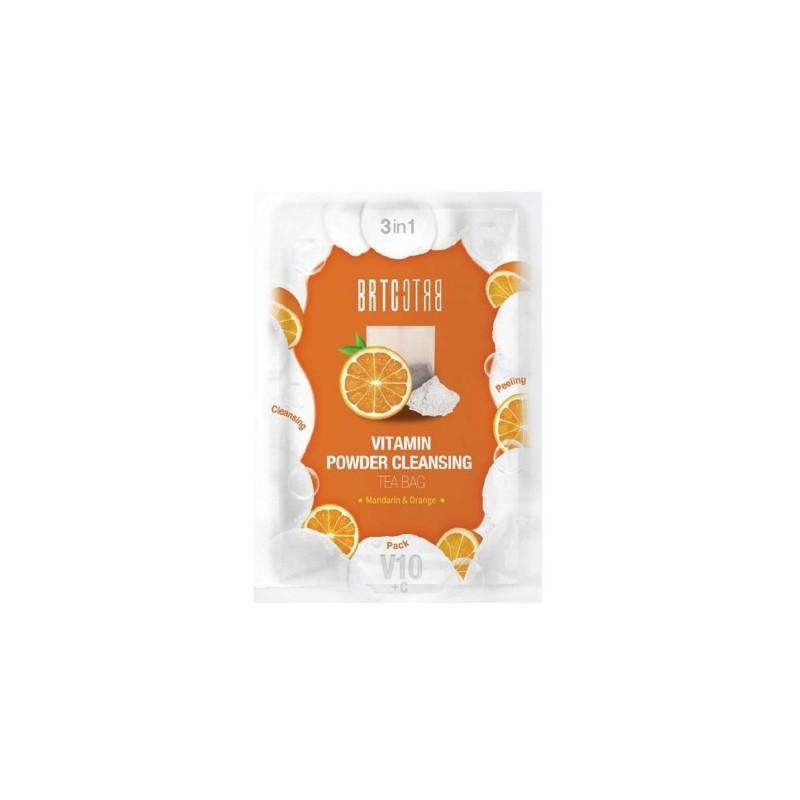 Šveitiklis veido odos valymui BRTC V10 Vitamin Powder Cleansing Tea Bag CLIV85481, 1,5 g