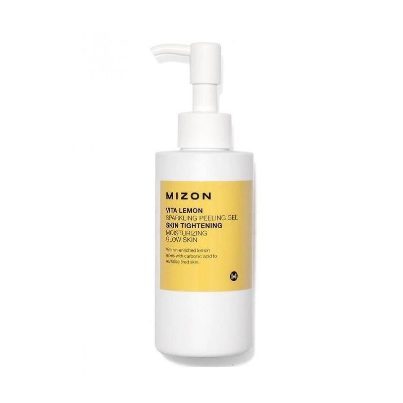 Valomasis veido odos šveitiklis - gelis Mizon Vita Lemon Sparkling Peeling Gel MIZ000007355, 145 g