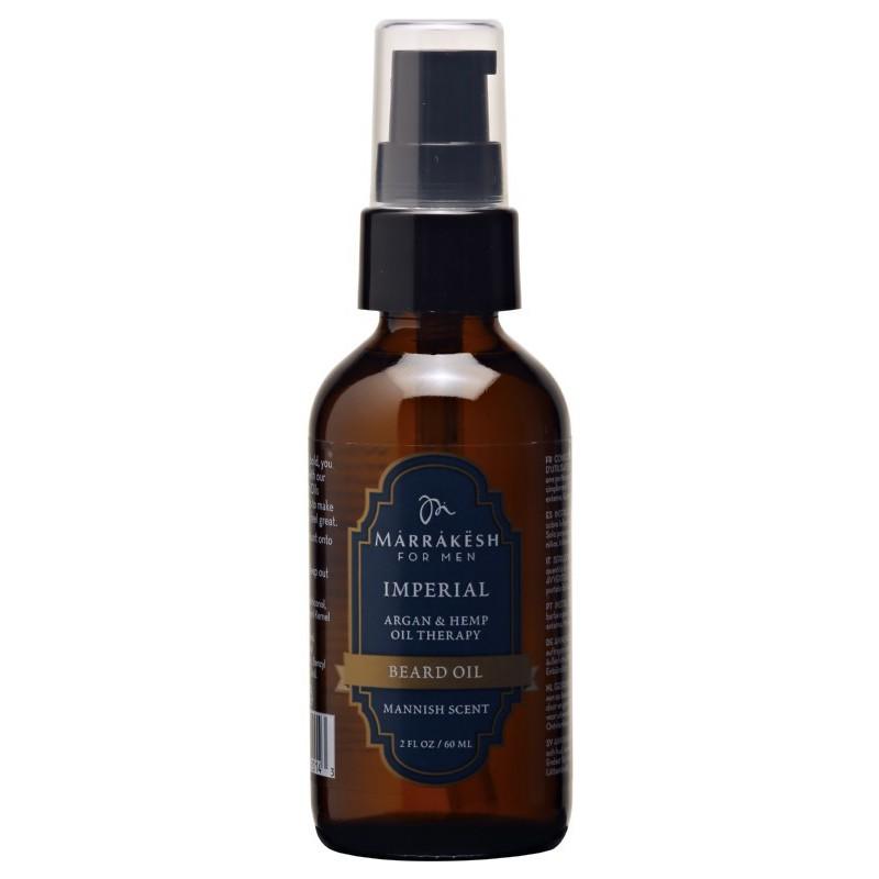 Barzdos plaukų aliejus Marrakesh for Men Imperial Beard Oil MKMB001, 60 ml