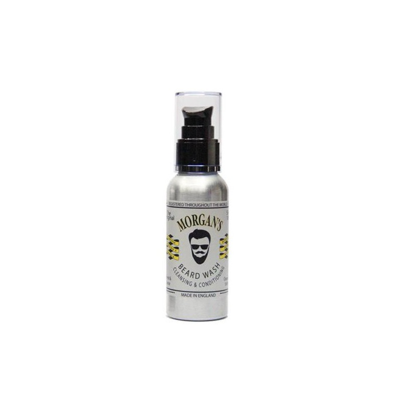 Prausiklis barzdai Morgan's Pomade Beard Wash MPM037, 100 ml