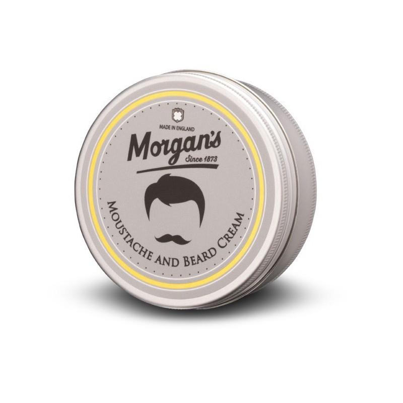 Barzdos ir ūsų kremas Morgan's Pomade Moustache & Beard Cream MPM038, 75 ml