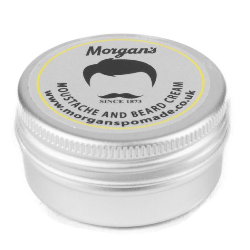 Barzdos ir ūsų kremas Morgan's Pomade Moustache & Beard Cream MPM101, 15 ml