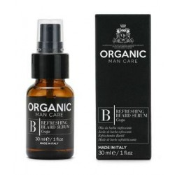 Gaivinantis aliejus barzdai Organic Man Care Refreshing Beard Serum ORGMCB02, 30 ml