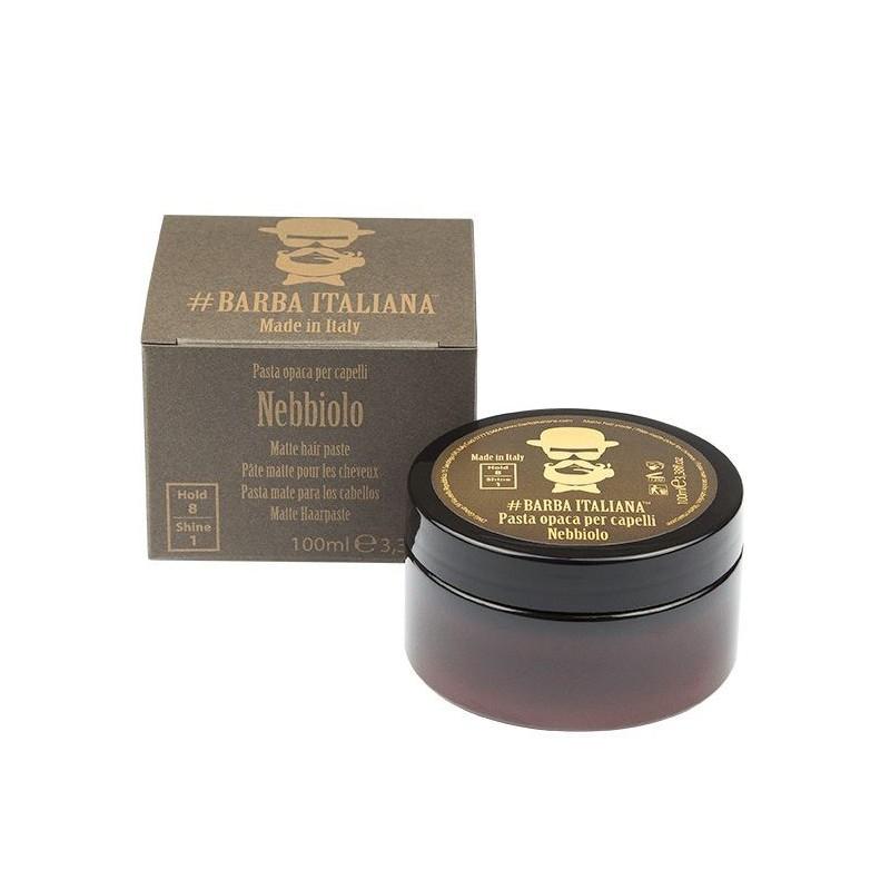 Formavimo pasta plaukams Barba Italiana, Matte Hair Paste Nebbiolo, BI0777, matinė, 100 ml