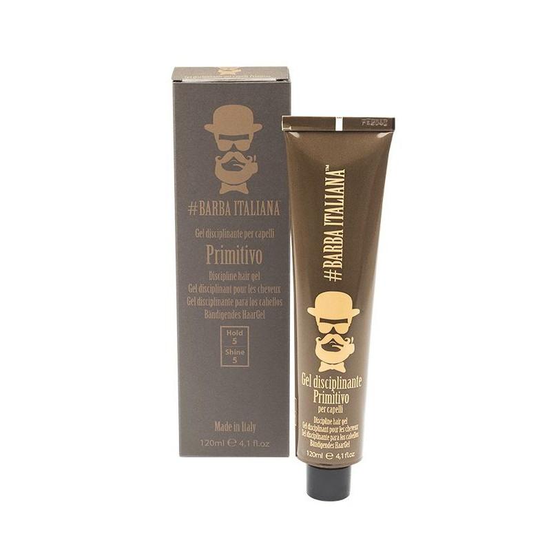 Plaukų formavimo gelis Barba Italiana Discipline Hair Gel Primitivo, BI7007, 120 ml