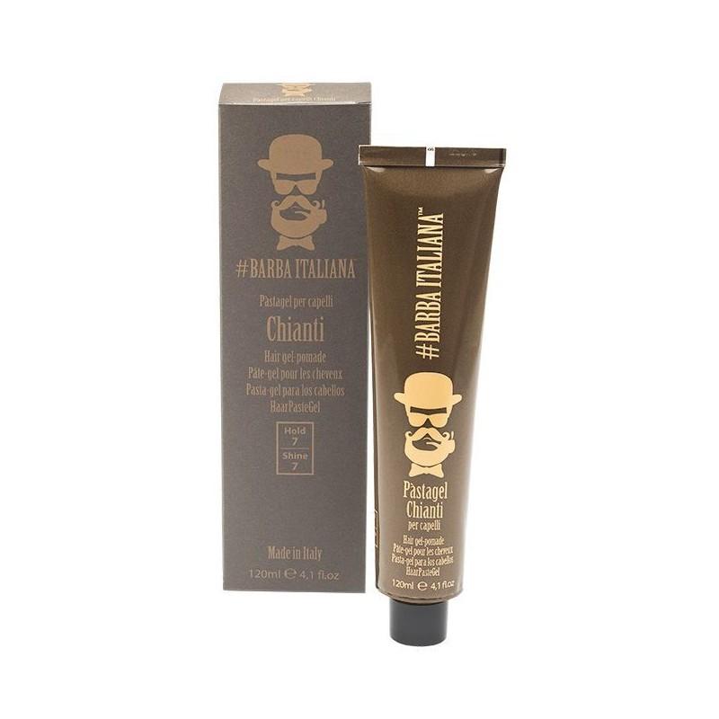 Plaukų formavimo gelis-pomada Barba Italiana Hair Gel-Pomade Chianti, BI7077, 120 ml