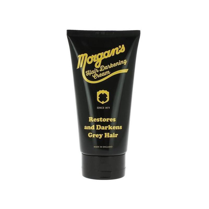 Dažantis kremas žiliems plaukams Morgan's Pomade Hair Darkening Cream MPM004, 150 ml