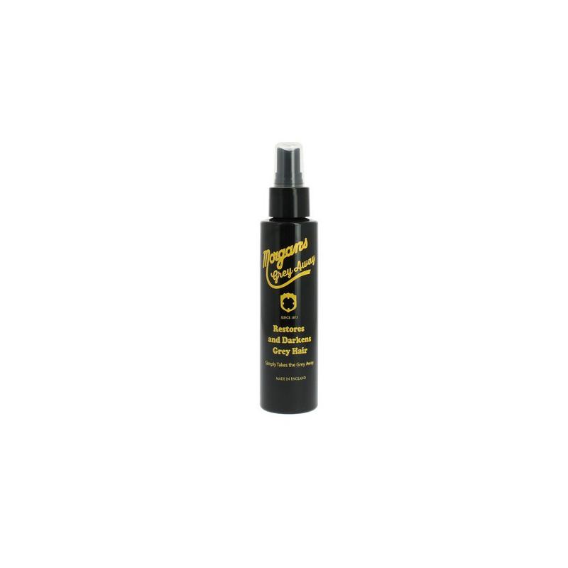 Tamsinanti plaukus priemonė žiliems plaukams Morgan's Pomade Hair Darkening Liquid Colour Restorer MPM005, 120 ml
