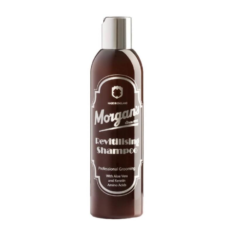 Atstatomasis šampūnas plaukams Morgan's Pomade Revitalising Shampoo MPM053, skirtas vyrams, 250 ml