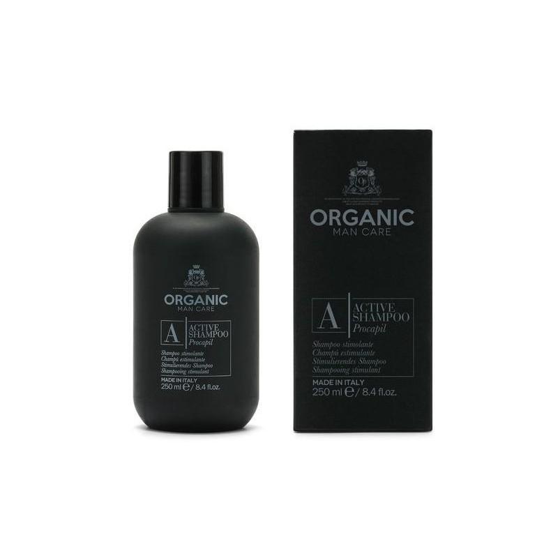 Šampūnas plaukams Organic Man Care Active Shampoo ORGMCA11, skirtas vyrams, valantis plaukus ir galvos odą, 1000 ml