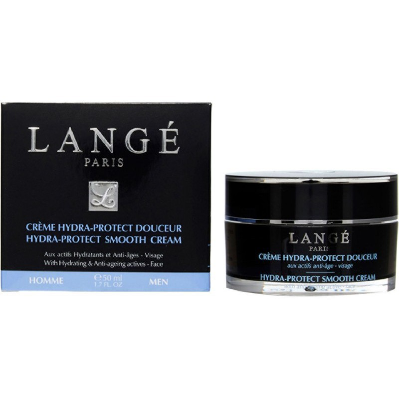 Veido kremas vyrams Lange Paris for Men Hydra-Protect Smooth Cream LAN1406, 50 ml